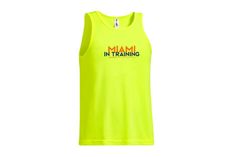 & Half Marathon: '2019 In Training' Sleeveless Tech Tank - Men's 2019