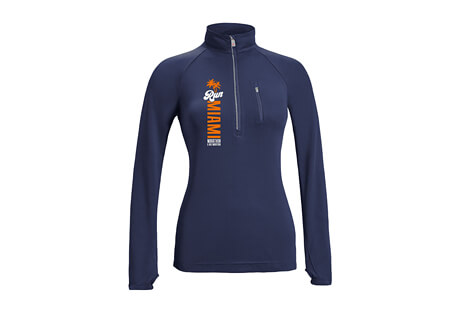 'LCP Vertical' Raglan 1/2 Zip Tech Pullover - Women's