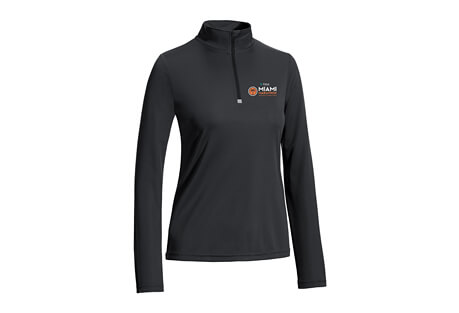 'LCP Logo' 1/4 Zip Tech Pullover - Women's