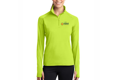 'LCP Logo' 1/2 Zip Tech Pullover - Women's