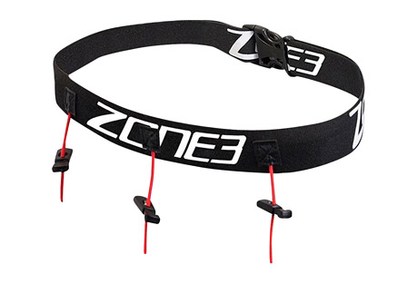 Ultimate Race Number Belt w/Gel Loops